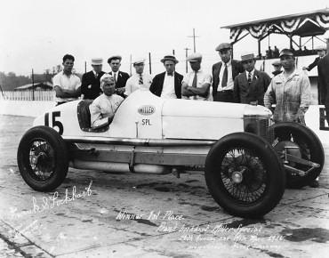 Frank Lockhart racing car