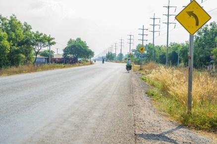 Cambodian road