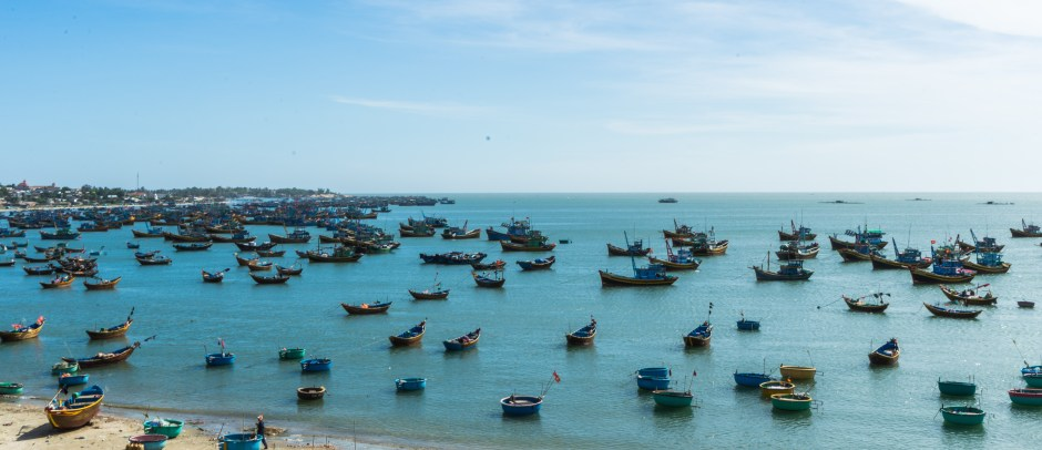 Mui Ne fishing harbour