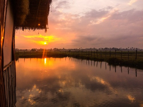 sunrise over Siem Reap