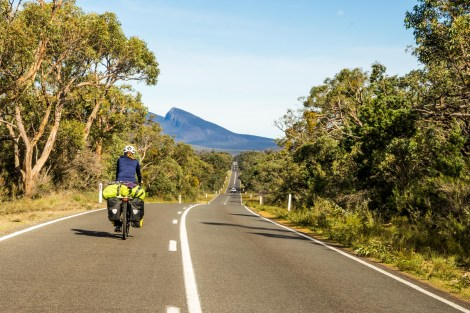 Cycling the Grampians, Australia