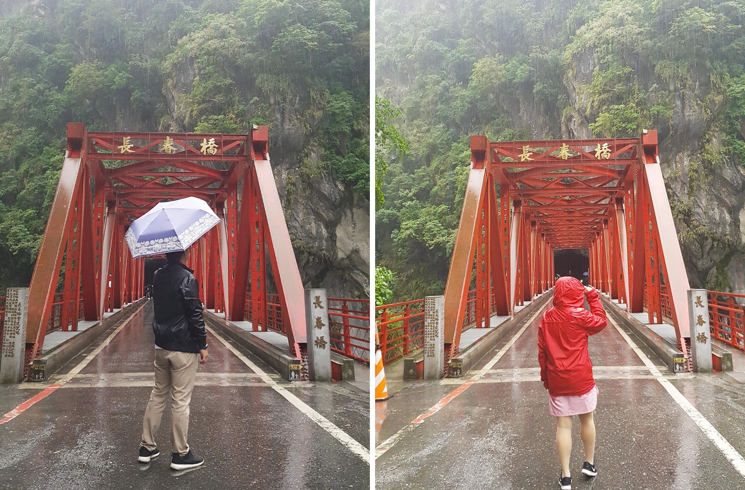 Taiwan Road Trip - Taroko Cang Cun Bridge
