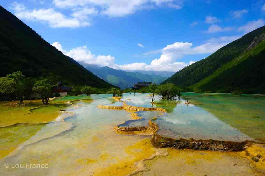 Huanglong Scenic Area is an amazing alternative adventure