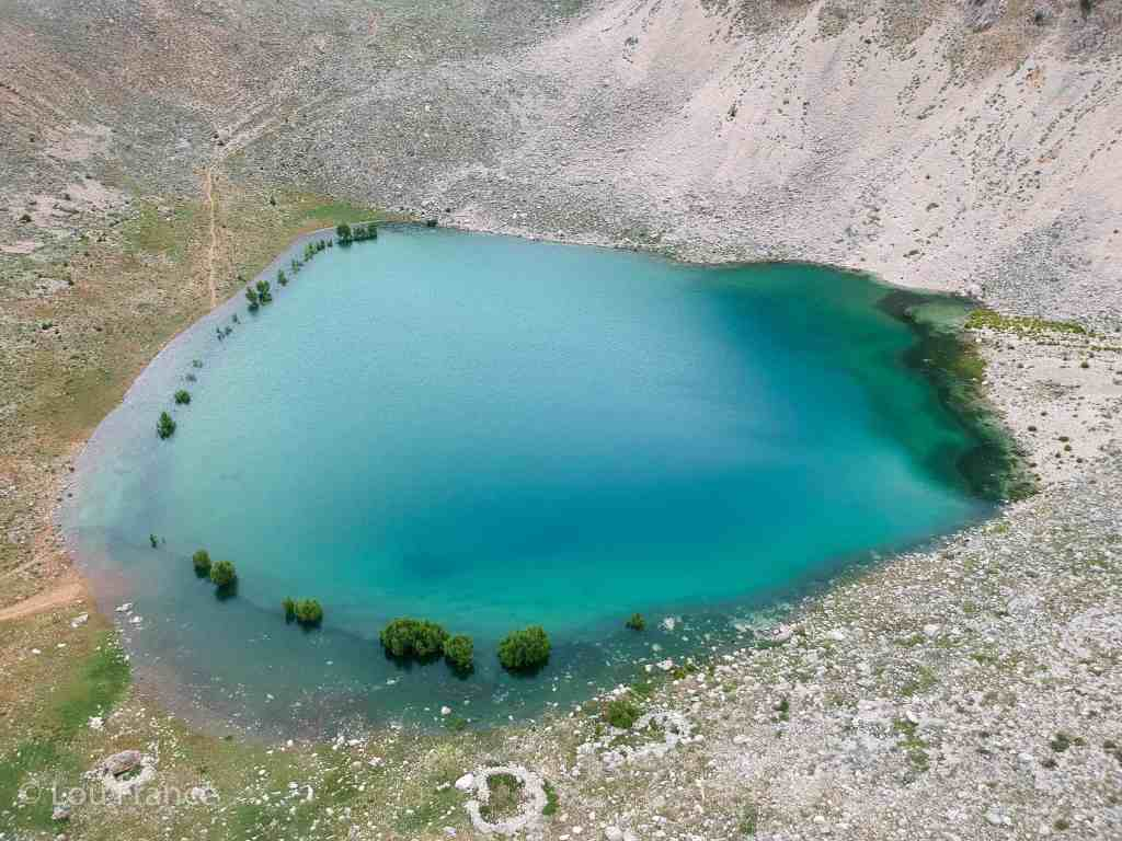 A day trip from Kas to Gombe we visited this beautiful Green Lake