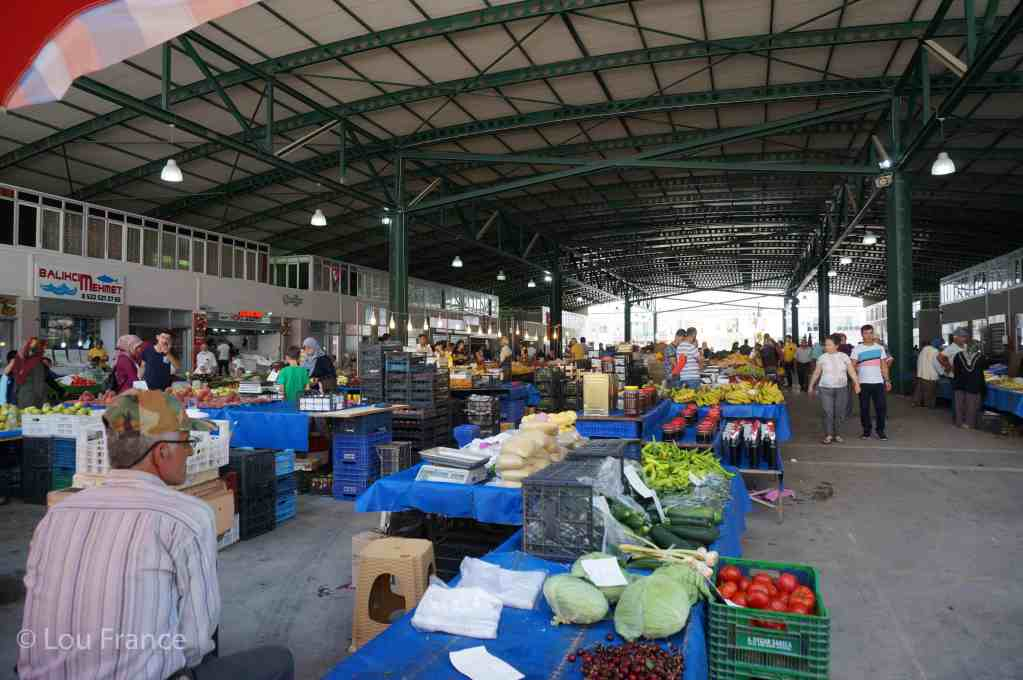 Demre's Friday market on a day trip from Kas
