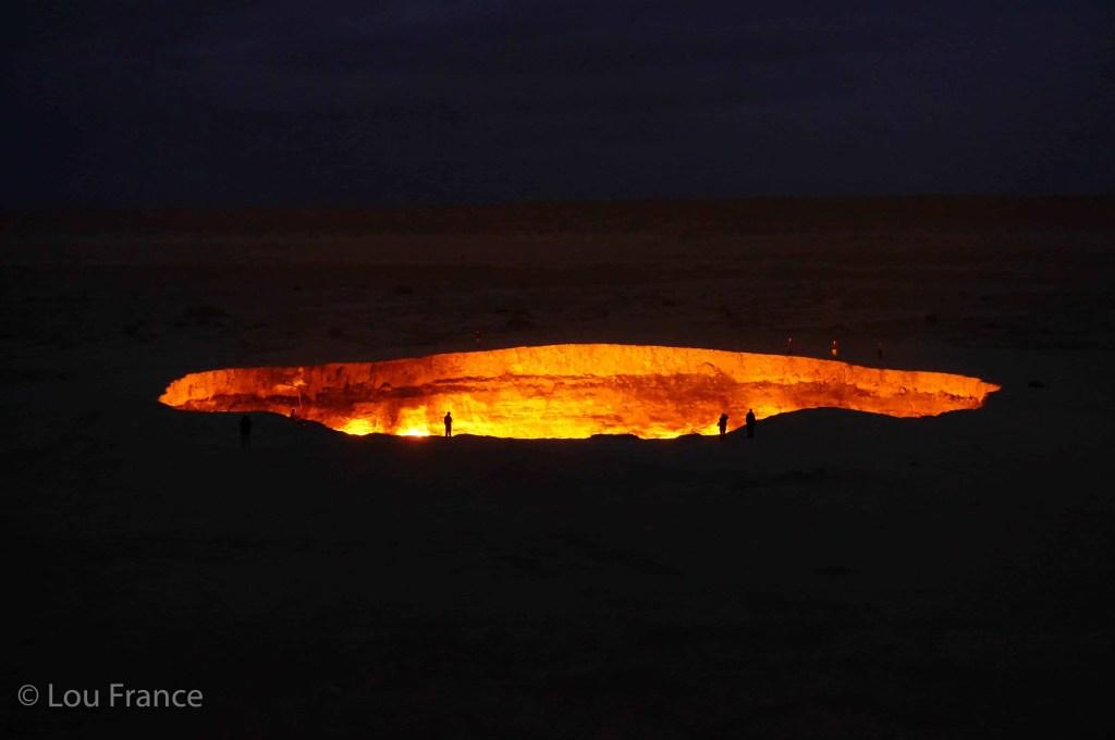 The doorway to hell is Turkmenistan's biggest dark tourism destination