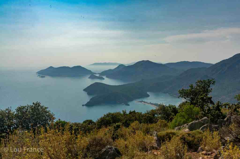 Hiking the Lycian way during our Turkey road trip from Istanbul to Cappadocia