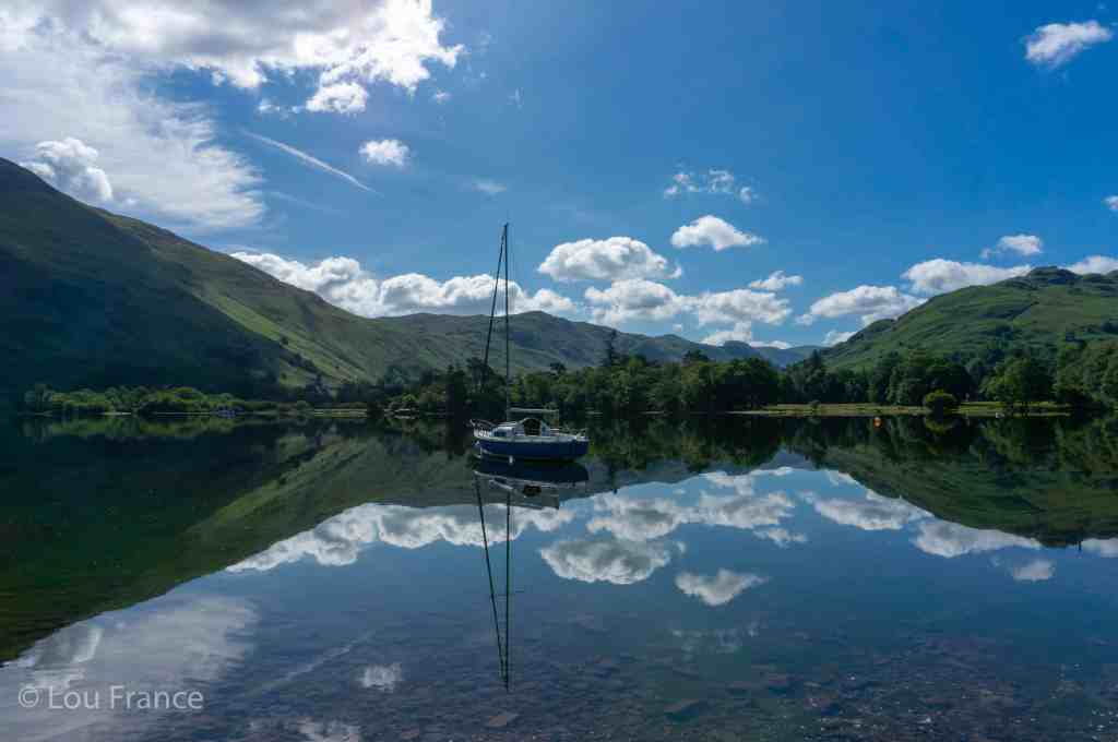 Ullswater Lake in the Lake District. A start for the best Lake District Hike