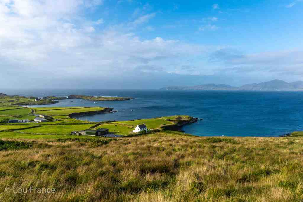 A view of the Beara Peninsula. This should be a must for your Ireland road trip planner