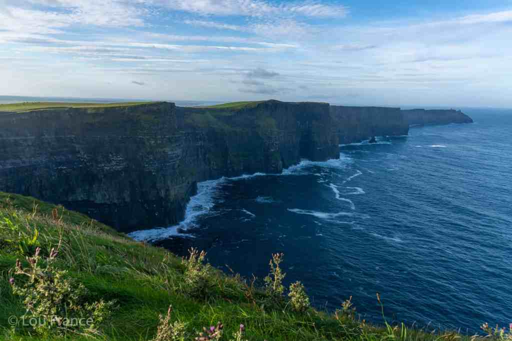 The Cliffs of Moher should definitely be included in your Ireland road trip planning