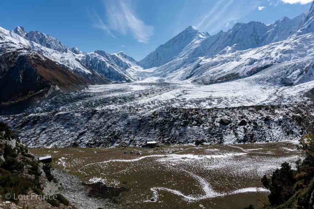 A view of Rakaposhi Base Camp