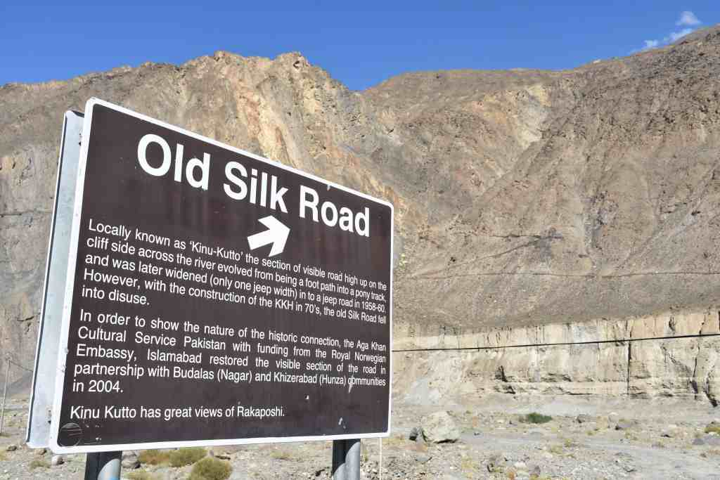 A great reason to visit Pakistan is to see the original Silk Road