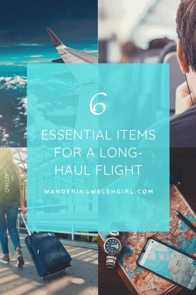 6 essentials for a more comfortable long-haul flight.
