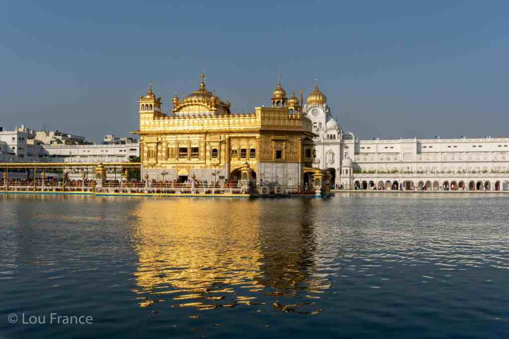 Golden temple is one of the best places to see in Amritsar