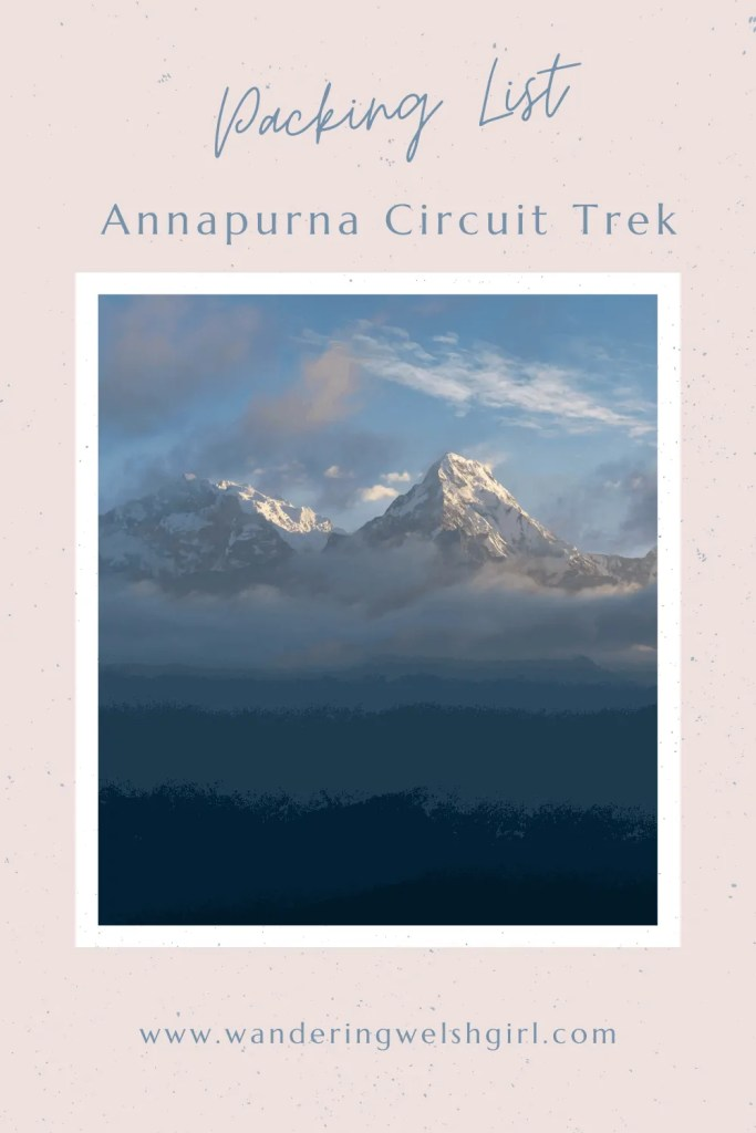 Are you planning a trekking trip in Nepal? Not sure what to take with you? Here is your ultimate Annapurna Circuit packing list guide.