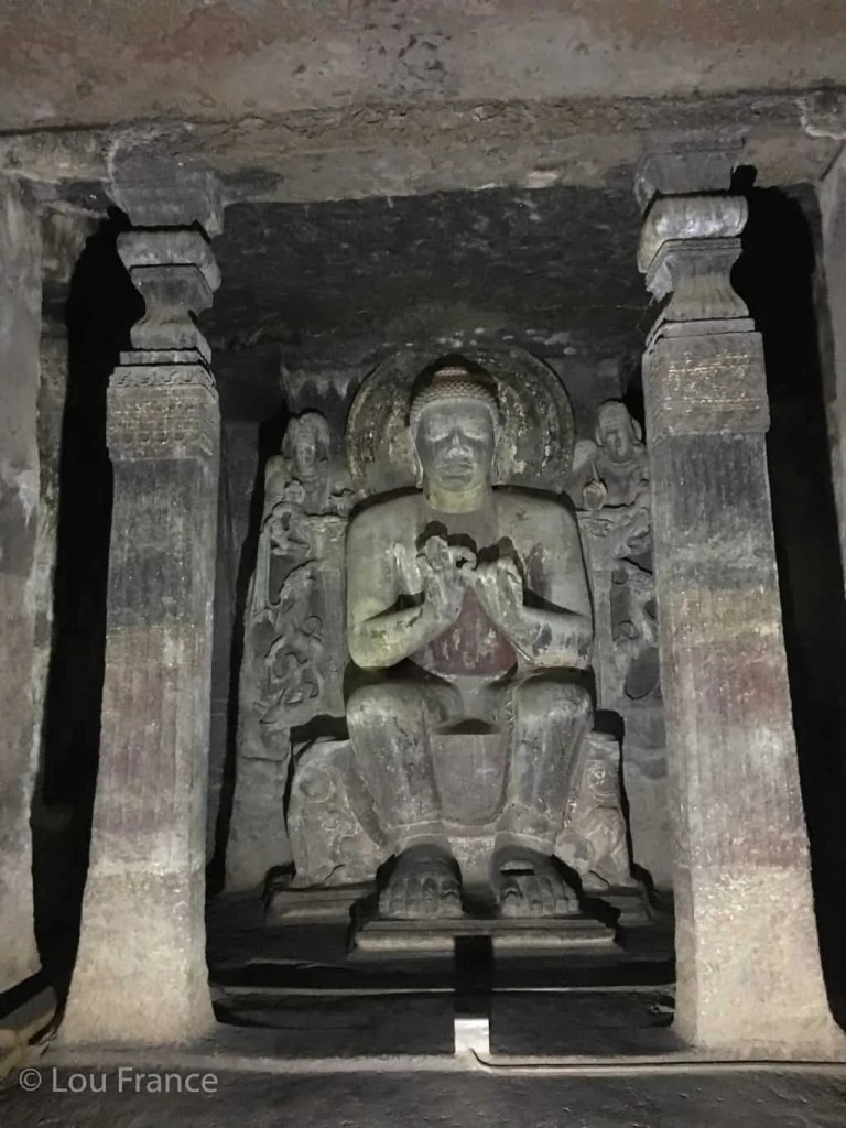Visit the Ajanta caves on a tour of India