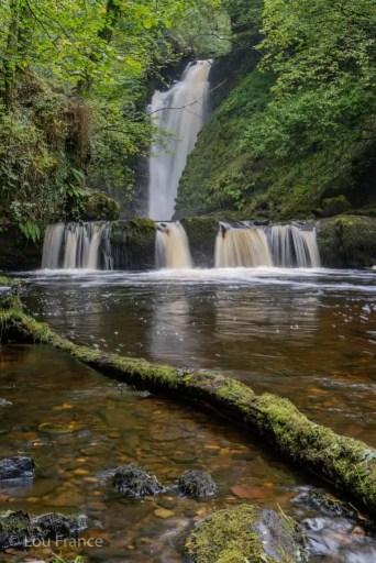 Sgwd Einion Gam is a secret waterfall in Wales