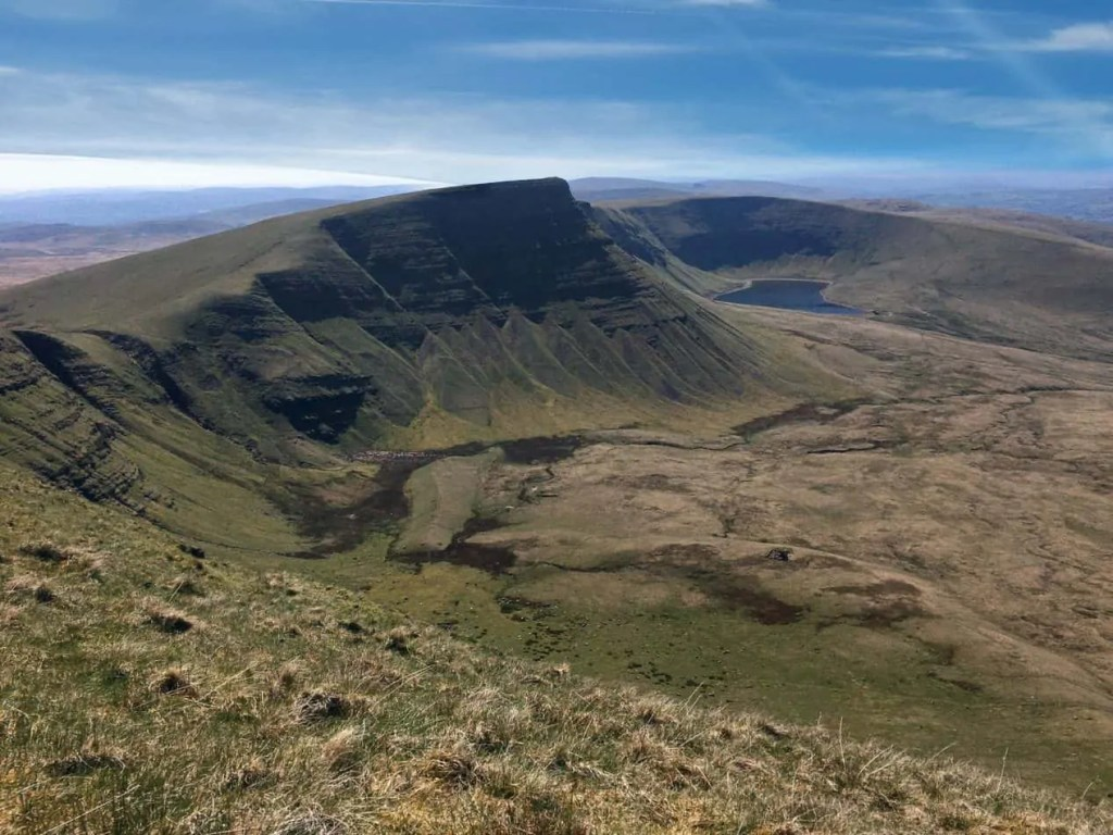 Views of Llyn y Fan Fach
