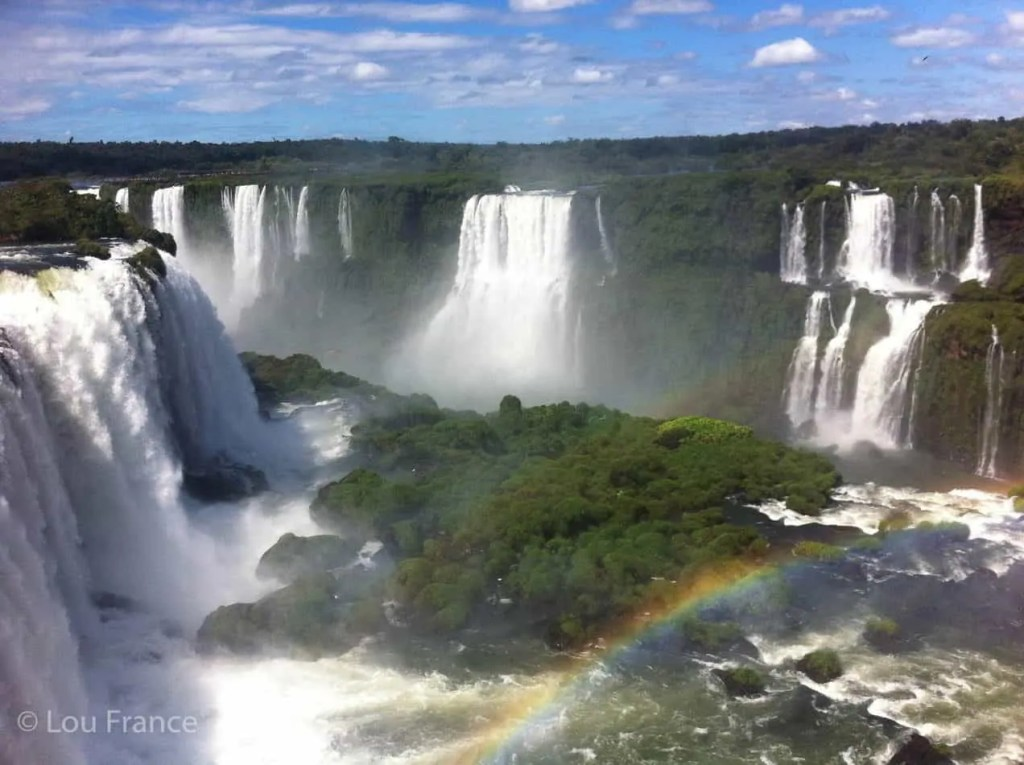 Iguazu Falls is the most beautiful waterfall in the world
