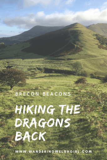 Walking Waun Fach and the Dragons Back in the Brecon Beacons, Wales