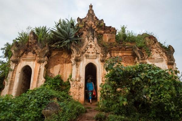 A ruined temple near Inle Lake, Myanmar by Wandering Wheatleys