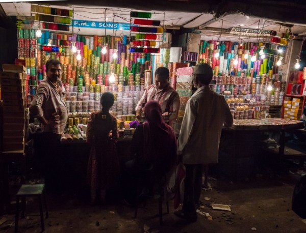 Bangle Shop in Mumbai, India