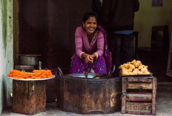 Friendly Shopkeeper, Darjeeling, India