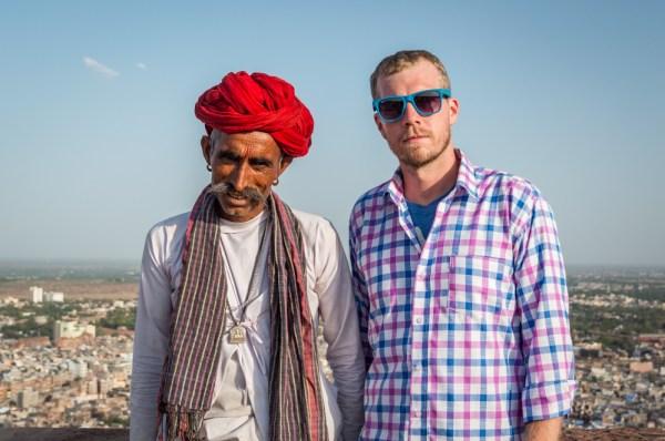 Indian Man in Jodhpur, India