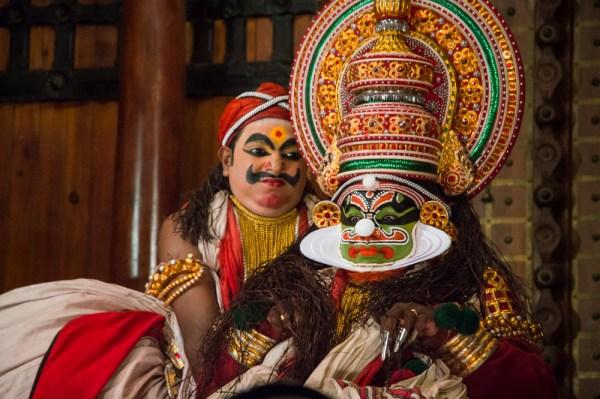 Kathakali Performance, Kochi, Kerala, India
