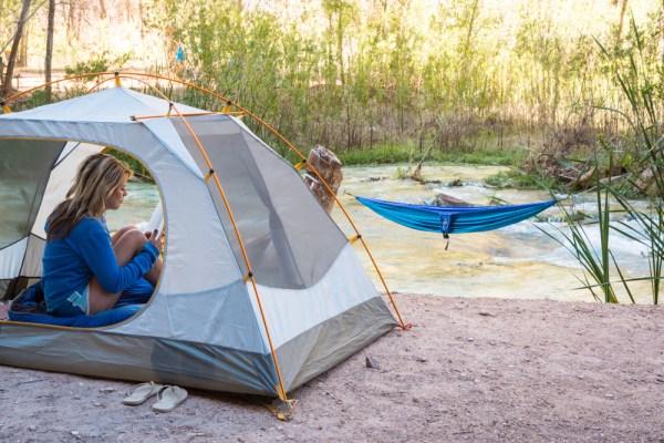 Camping at Havasu Falls, Arizona by Wandering Wheatleys