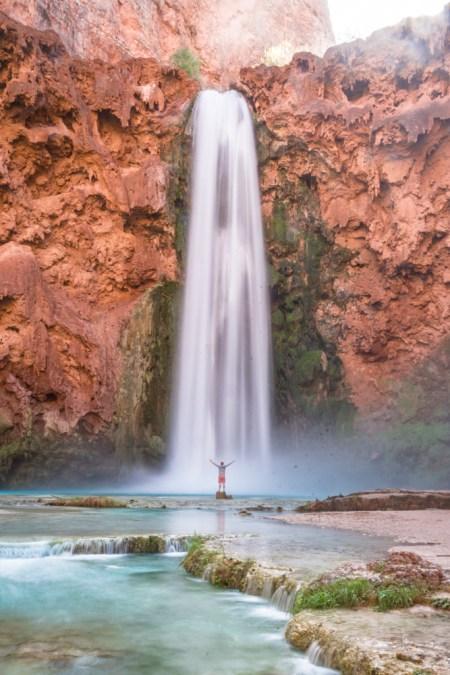 Mooney Falls, Havasu Canyon, Arizona by Wandering Wheatleys