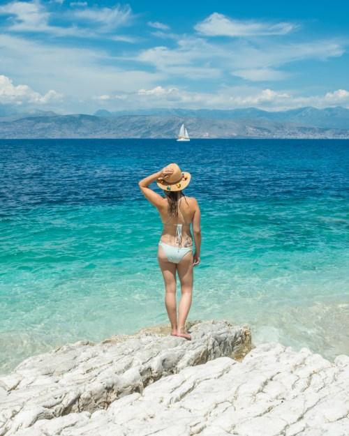 Bataria Beach, Corfu, Greece