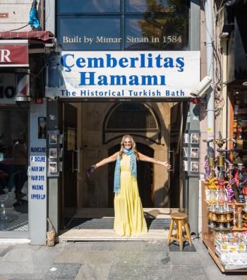 Cemberlitas Hamami in Istanbul, Turkey by Wandering Wheatleys