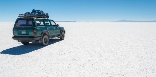 Salar de Uyuni (Salt Flats), Bolivia by Wandering Wheatleys