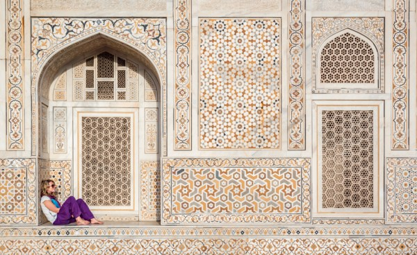 Taj Mahal, Agra, India by Wandering Wheatleys