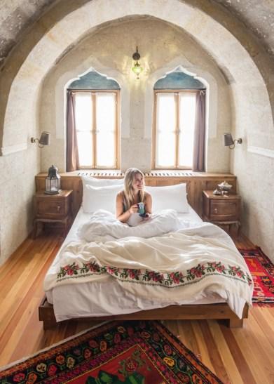 Taskonaklar Cave Hotel, Cappadocia, Turkey by Wandering Wheatleys