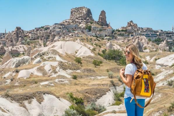Uchsir Castle, Cappadocia, Turkey by Wandering Wheatleys
