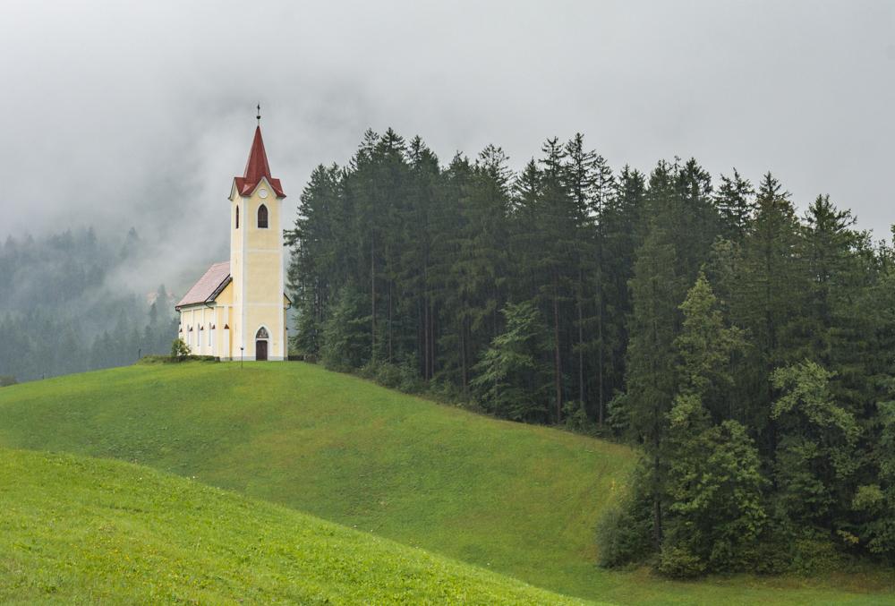 Church in Slovenia by Wandering Wheatleys