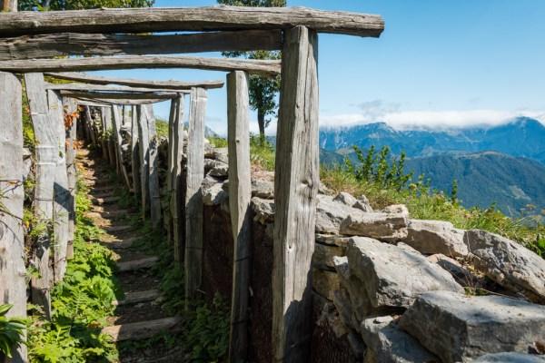 World War I Bunkers at Kolovrat, Slovenia by Wandering Wheatleys