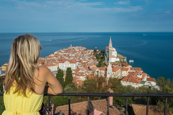 View of Piran, Slovenia by Wandering Wheatleys