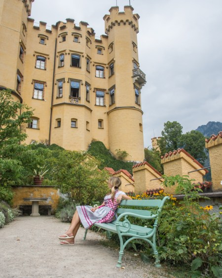 Hohenschwangau Castle, Germany by Wandering Wheatleys