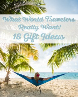 Gift Ideas for World Travelers by Wandering Wheatleys