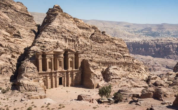Views of the Monastery, Petra, Jordan by Wandering Wheatleys