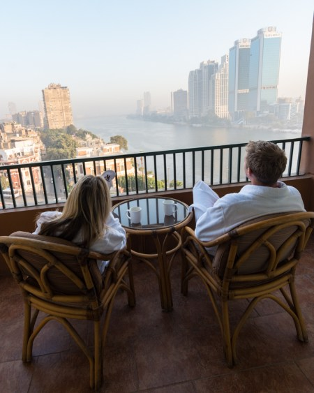 Views of the Nile, Cairo Marriott, Egypt by Wandering Wheatleys