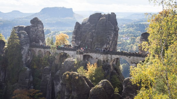 Bastei Bridge in Saxon-Switzerland, Germany by Wandering Wheatleys