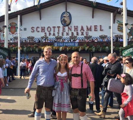 Oktoberfest in Munich, Germany by Wandering Wheatleys