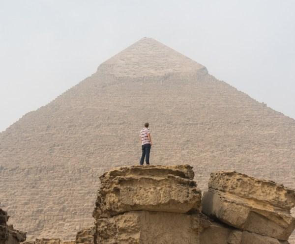 Pyramid of Khafre, Giza, Egypt by Wandering Wheatleys