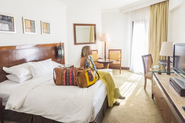 Luxurious rooms at the Hilton Luxor, Egypt by Wandering Wheatleys