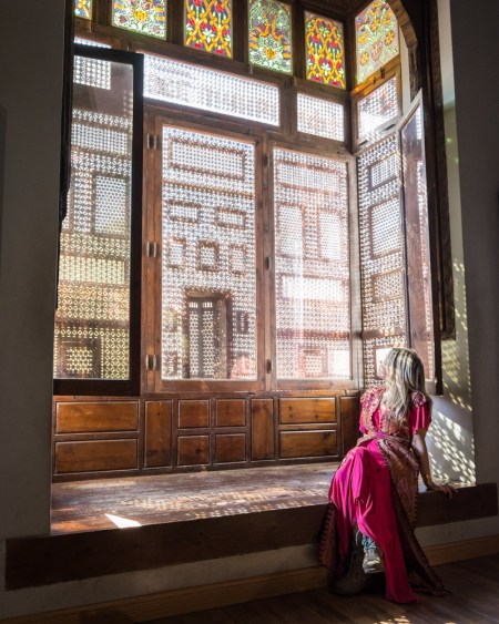 Stained Glass Windows in the Coptic Museum, Cairo, Egypt by Wandering Wheatleys