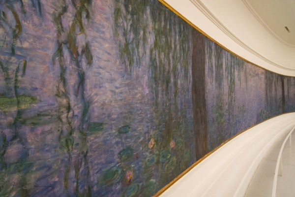 Claude Monet's Water Lilies at Search Results Claude Monet's Water Lilies Musée de l'Orangerie, Paris, France by Wandering Wheatleys